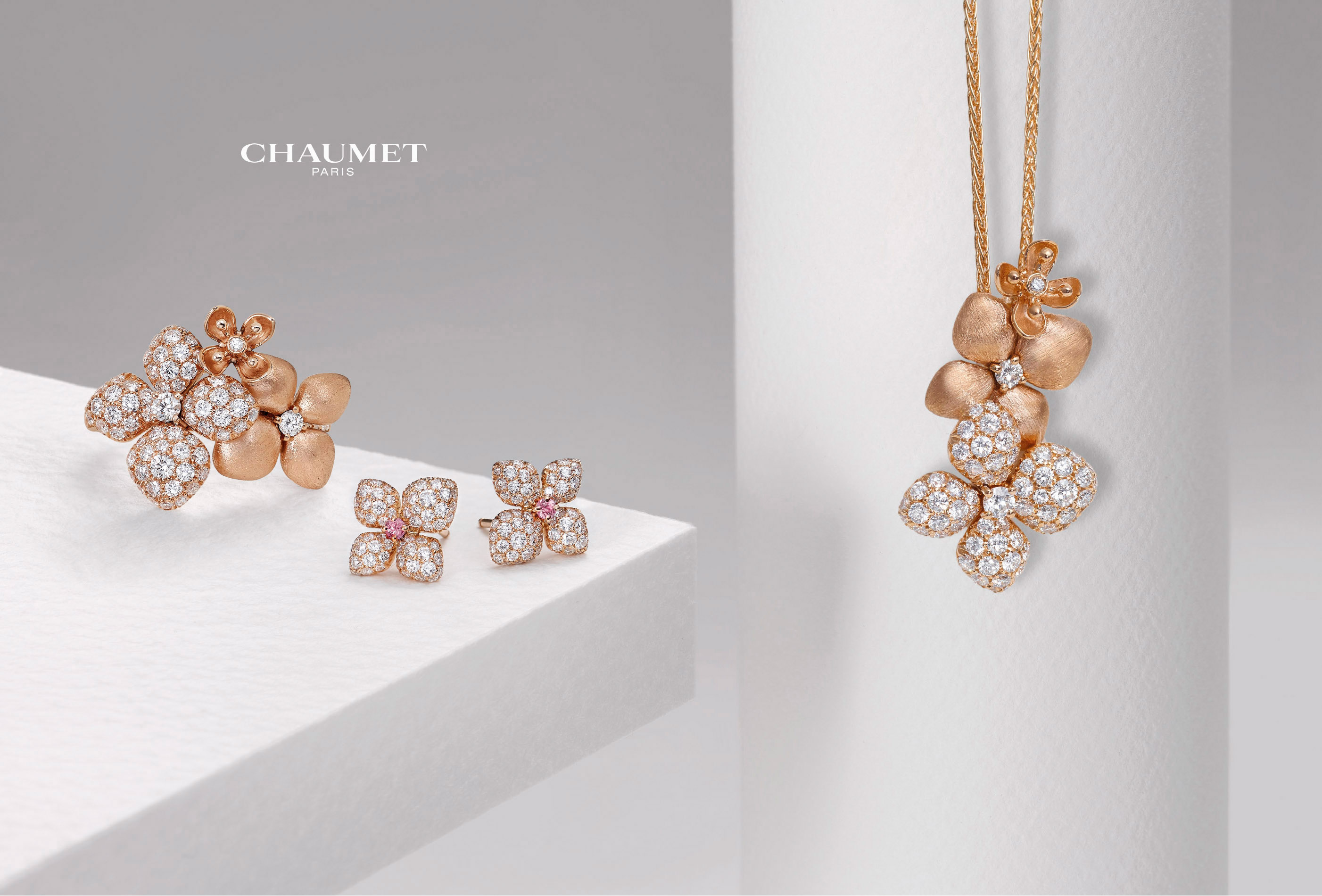 CHAUMET Collection « Hortensia »
