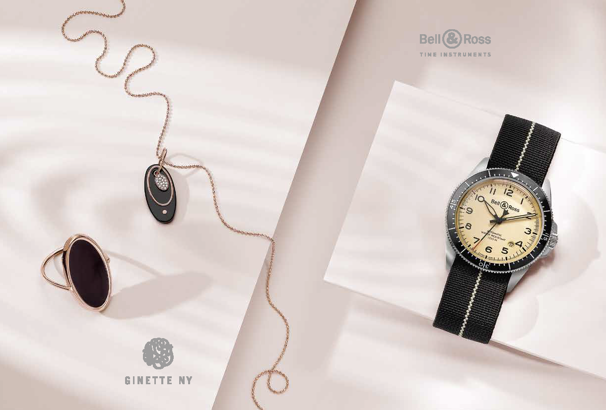 GINETTE NY Collection Ellipse - BELL & ROSS Collection BRV2